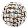Swarovski Bead 40515 Round 15mm Aurora Borealis Crystal